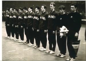 13_1961_WM Finale in Dortmund_Rum Nationalmannschaft_Tschechoslowakei